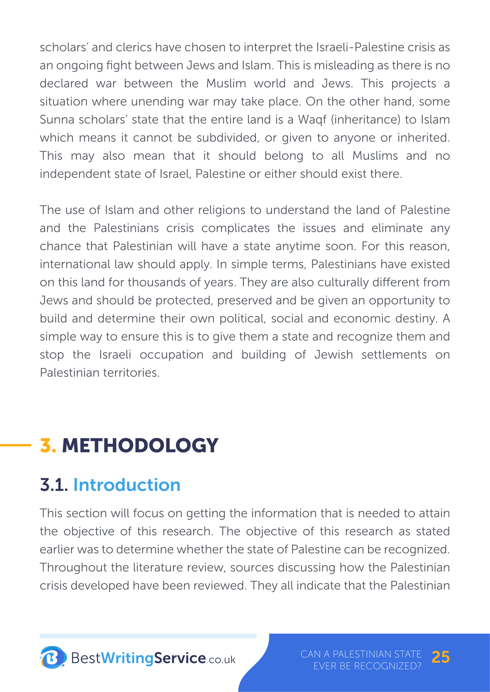 Thesis title proposal for computer science students